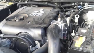звук работы двигателя митсубиси Л 200