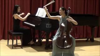 Audrey Chen - Schumann Adagio and Allegro