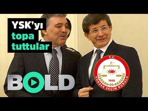 Abdullah Gül ve Ahmet Davutoğlu'ndan Ekrem İmamoğlu'na destek | Açıklamalarında YSK'yı topa tuttular