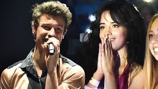 Camila Cabello Lovingly Watches Shawn Mendes Perform at His Brooklyn Concert