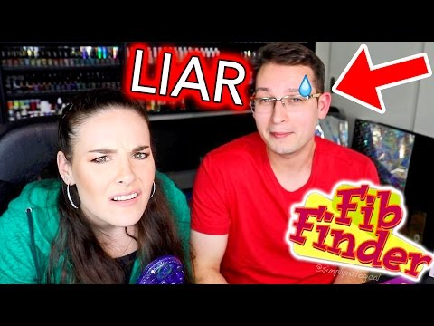 My Boyfriend is A LIAR!!!! (the Fib Finder said so)