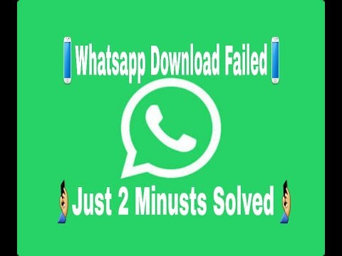 Whatsapp📱 Status Download Failed Eror 🤳Just 2 Minitus Solved