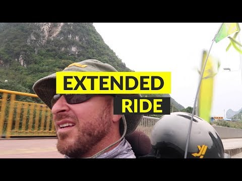 EXTENDED RIDE : Downtown HEZHOU, CHINA