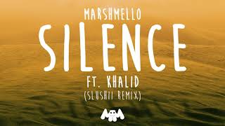Video Marshmello ft. Khalid - Silence (Slushii Remix) download MP3, 3GP, MP4, WEBM, AVI, FLV Januari 2018