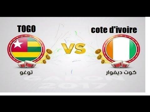 Côte d'Ivoire ₋ Togo  LIVE HD