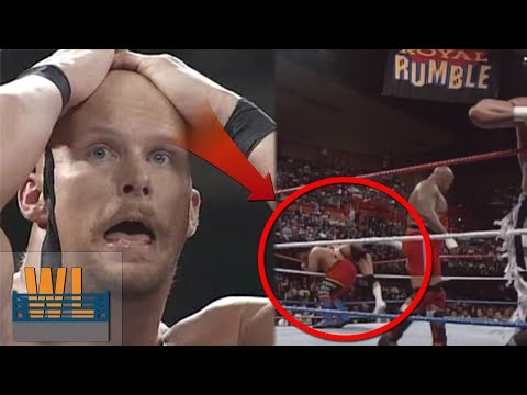 7 Botched Royal Rumble Eliminations! (That Weren't Supposed to Happen!)