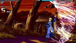 Mugen - Schlussel vs Yagami (KOF Ex Unlimited Match)