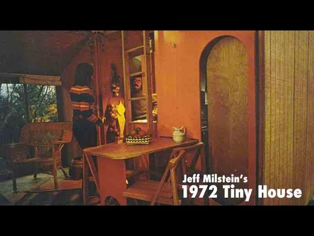 """Tiny House Cabin Kit from 1972!  The """"Bolt-Together House"""""""