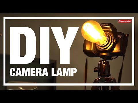 Build your own DIY CAMERA LAMP 📸Tutorial | Jaworskyj