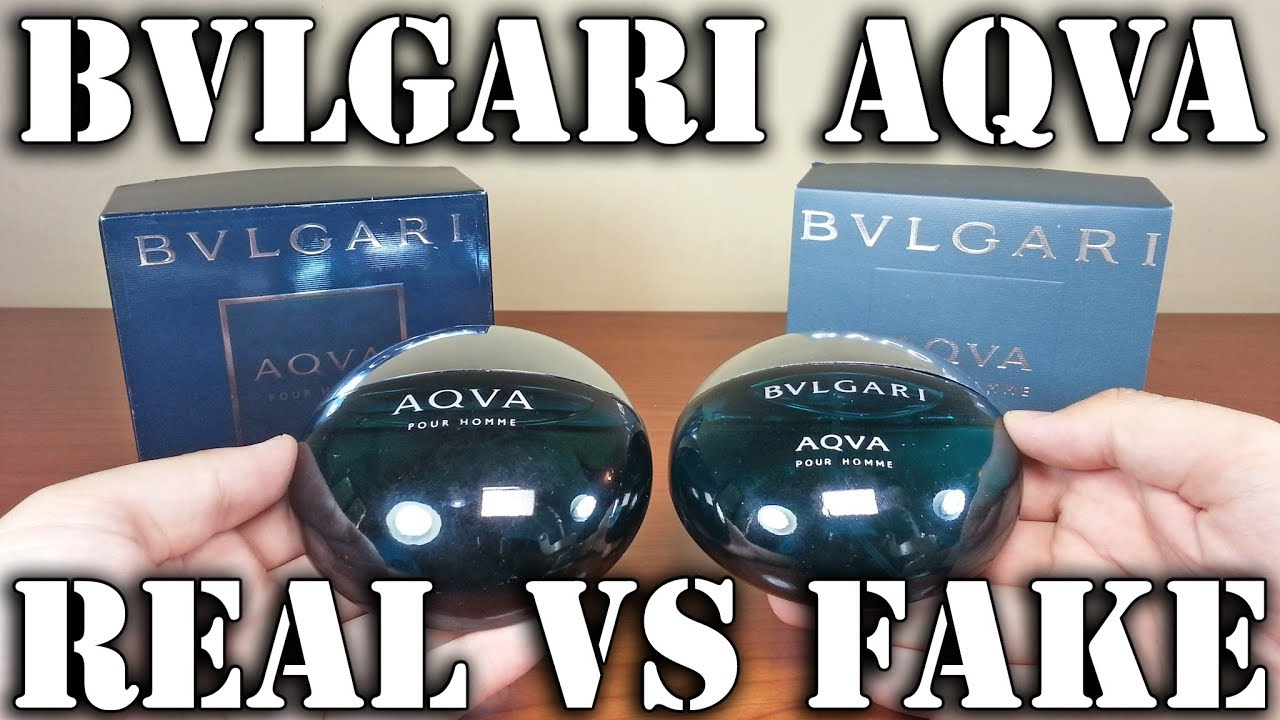 Fake Fragrance Aqva By Bvlgari Youtube