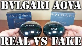 Fake fragrance - Aqva by Bvlgari