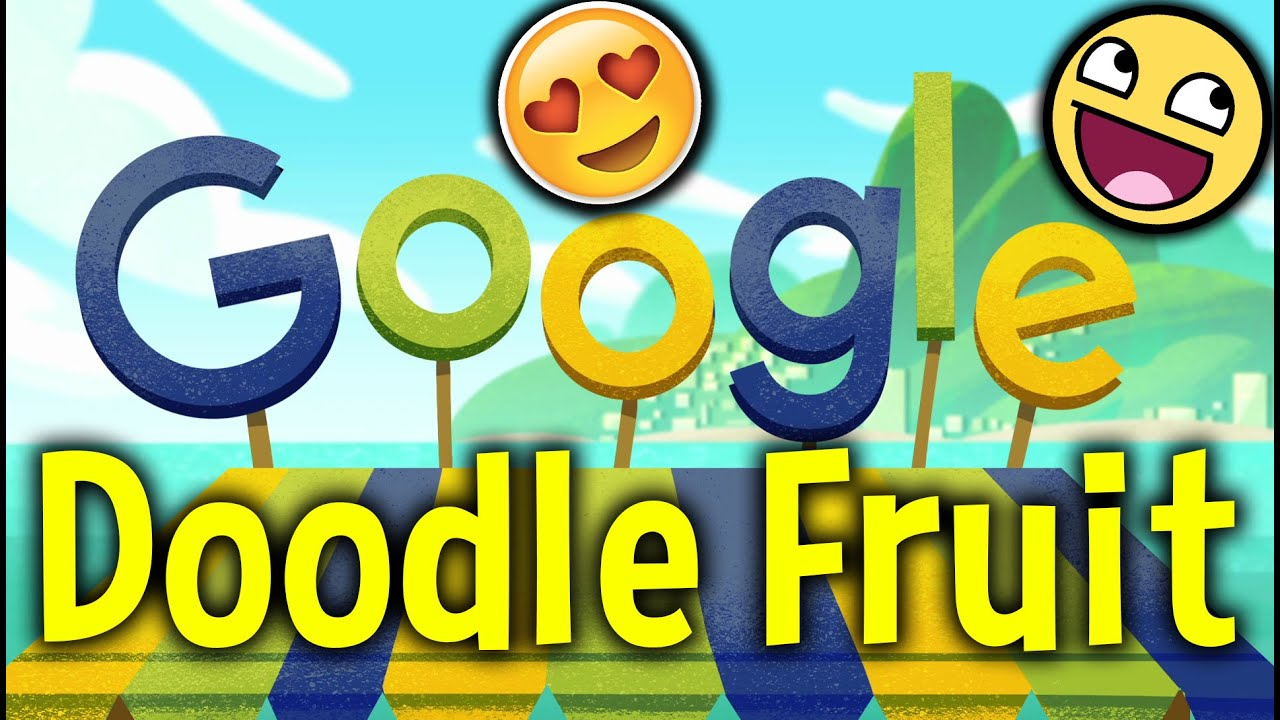 How To Play Google Doodle Fruit Games 2016 Rio Olympics
