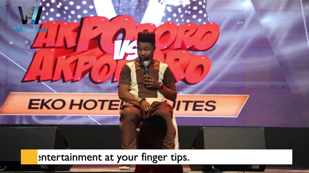 Download COMEDIAN, OSAMA TALKS ABOUT DIFFERENT SLEEPING POSITIONS, RECESSION AND MORE AT AKPORORO VS AKPORORO