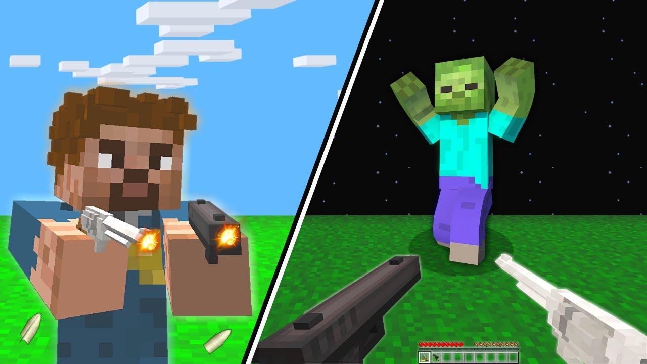 BEBEK FAKİR POLİS OLDU ZOMBİLERİ ÖLDÜRDÜ! 😱 - Minecraft