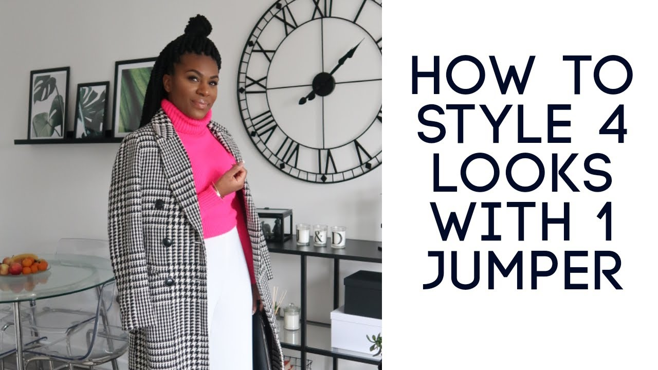 How To Style 4 Looks With 1 Jumper - PRIMARK
