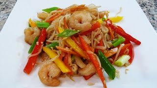 Glass Noodle Stir Fry, Easy Chinese Recipe