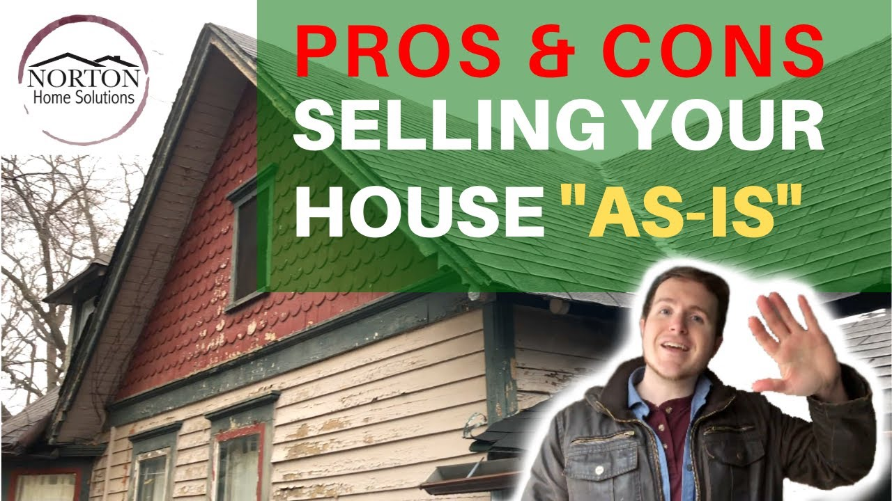PROS & CONS of Selling Your House As-Is in Kansas City