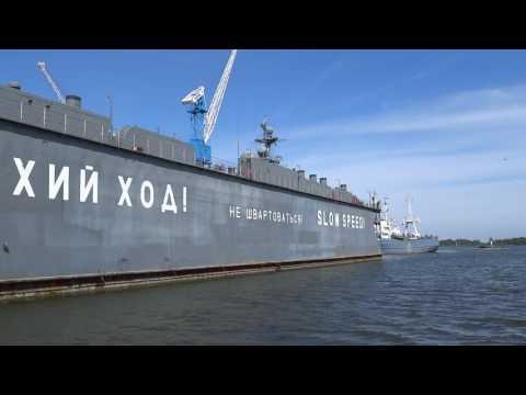 Военно-морская база в Балтийске: смотреть разрешено!
