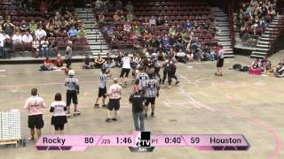 Rocky Mountain Rollergirls v Houston Roller Derby: 2013 WFTDA D1 Playoffs Asheville