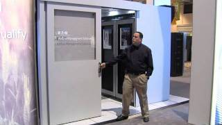Eaton's Data Canter Aisle Containment Doors