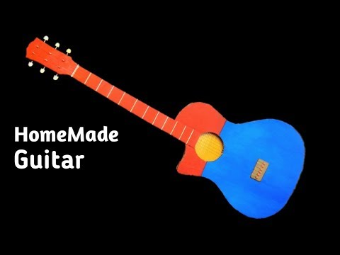 homemade-guitar-out-of-cardboard