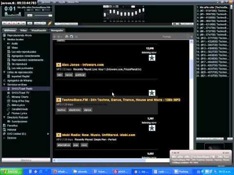 Buscar URL de radio para poner en tu reproductor de musica HTML