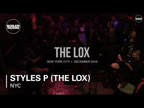 Styles P (The Lox) Boiler Room NYC Live Set