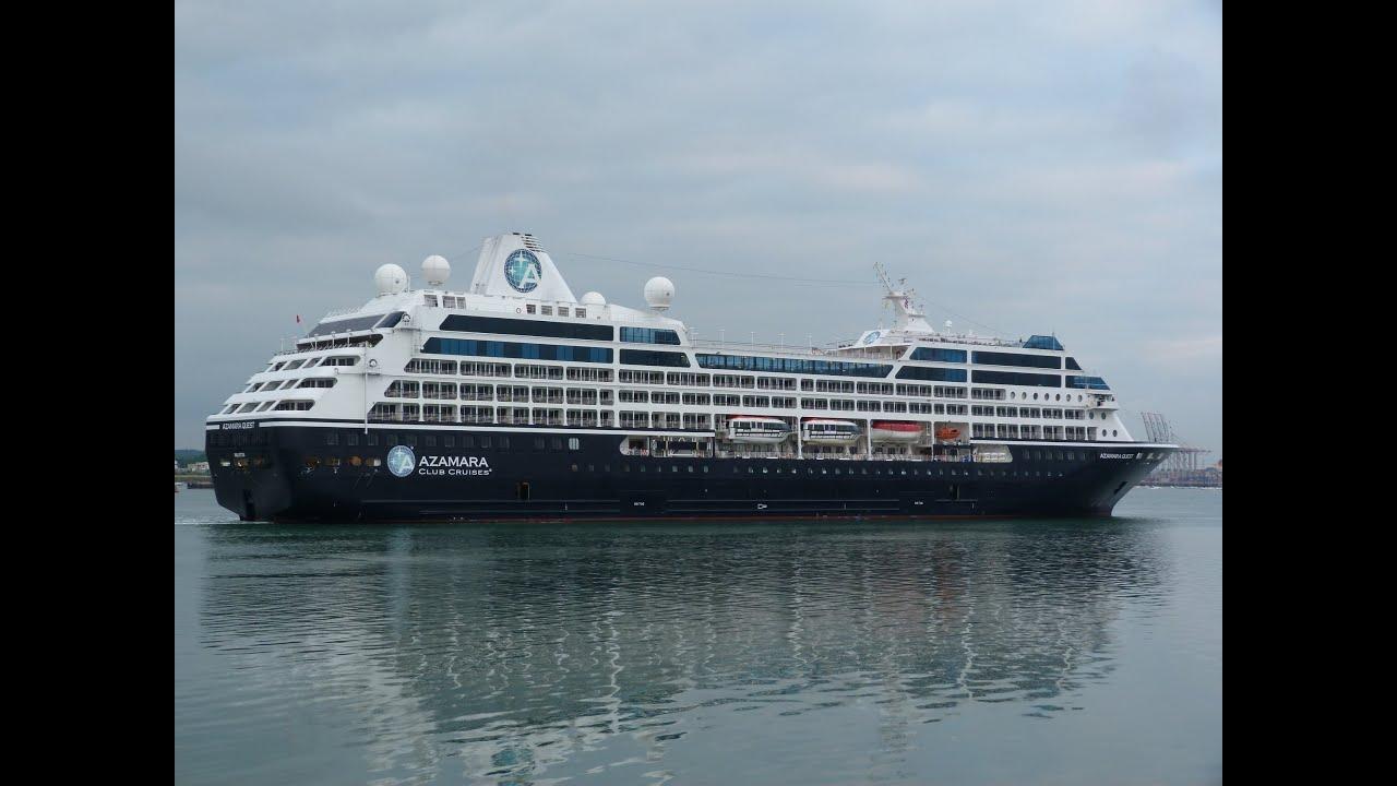 Azamara Quest Balmoral Cruise Ships Early Morning Arrivals - Balmoral cruise ship schedule