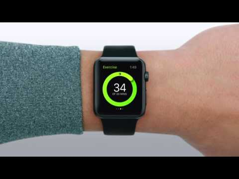 Как настроить активность на apple watch