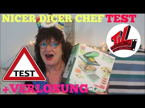 GENIUS NICER DICER CHEF UNBOXING - TEST + VERLOSUNG FEISTY PET