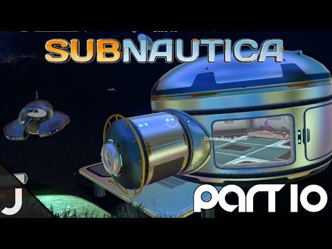 Subnautica - Part 10 - Deep Sea Base!