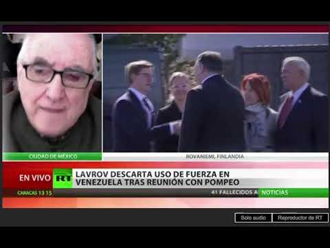 "Alfredo Jalife: ""Encuentro Lavrov/Pompeo sobre Venezuela"" RT"