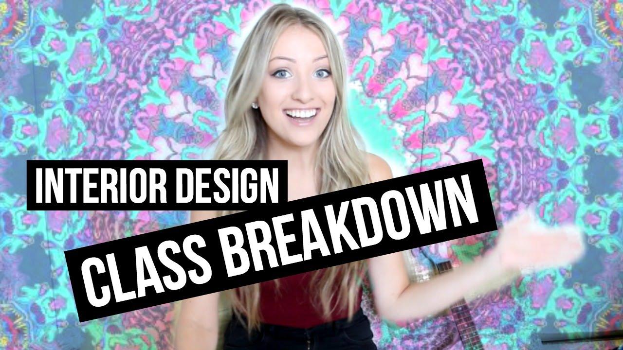 interior design class breakdown