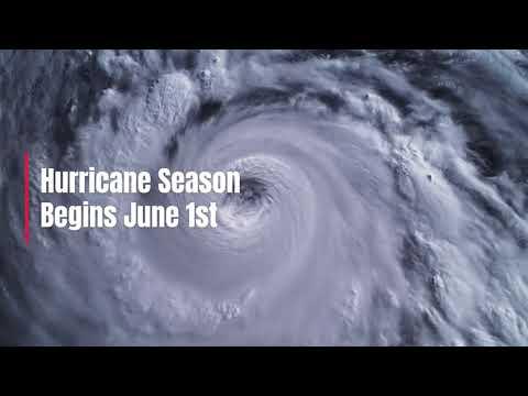 Atlantic Hurricane Season Begins June 1st