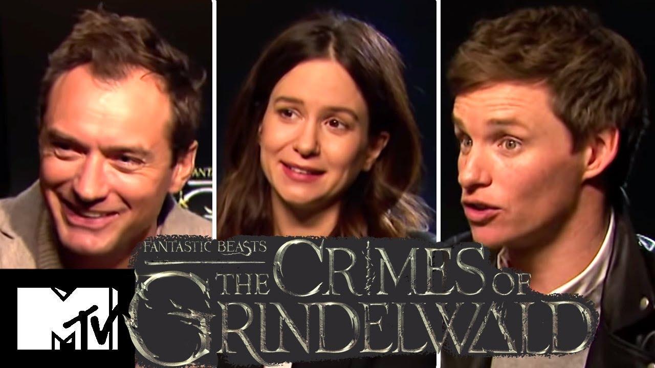 Fantastic Beasts 2 Cast Reveal Alternate Ending & Deleted Prof. McGonagall Scenes | MTV Movies