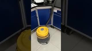 고속원심분쇄기 FM200 사이클론+진동공급기 장착