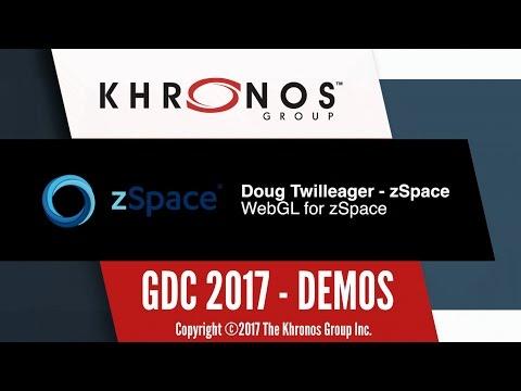 zSpace Demo - WebGL - GDC 2017