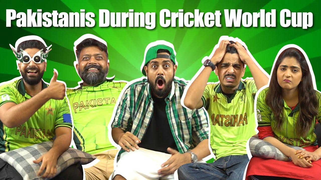Pakistanis During CRICKET World Cup   Bekaar Films   Comedy Skit
