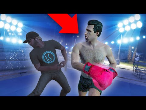 HE CHALLENGED ME TO A BOXING MATCH! | GTA 5 THUG LIFE #323