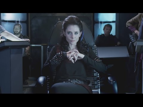 "Adrienne Wilkinson in ""Star Trek"" as Captain Lexxa Singh"