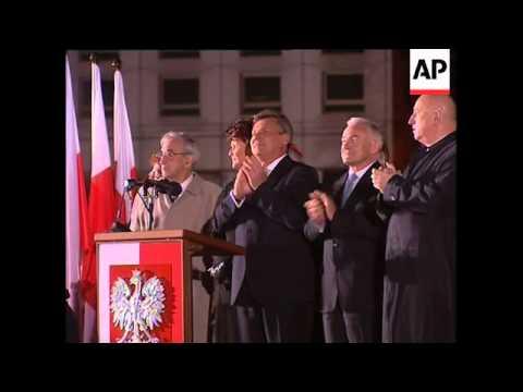 Midnight celebrations as Poland enters the EU