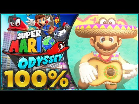 Super Mario Odyssey - Sand Kingdom 100% All Moons & Coins | Part 1! [🔴LIVE]