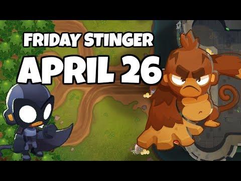 BTD6 Friday Stinger - Pat Em' Back - April 26 2019