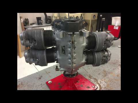 Continental 0-200 Overhaul and Test Run