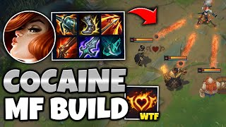 COCAINE MISS FORTUNE IS THE FINAL BOSS OF ATTACK SPEED BUILDS - League of Legends