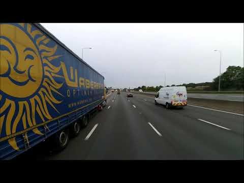 Z89 Travel : Road Trip Coca-Cola London, Edmonton to Eddie Stobart Rugby Truck Stop on 30/9/2017