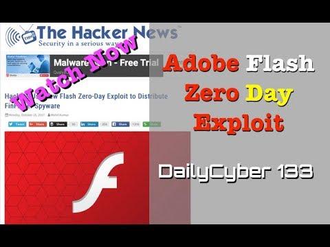New Adobe Flash Zero Day Exploit To Distribute FinFisher Spyware   DailyCyber 133