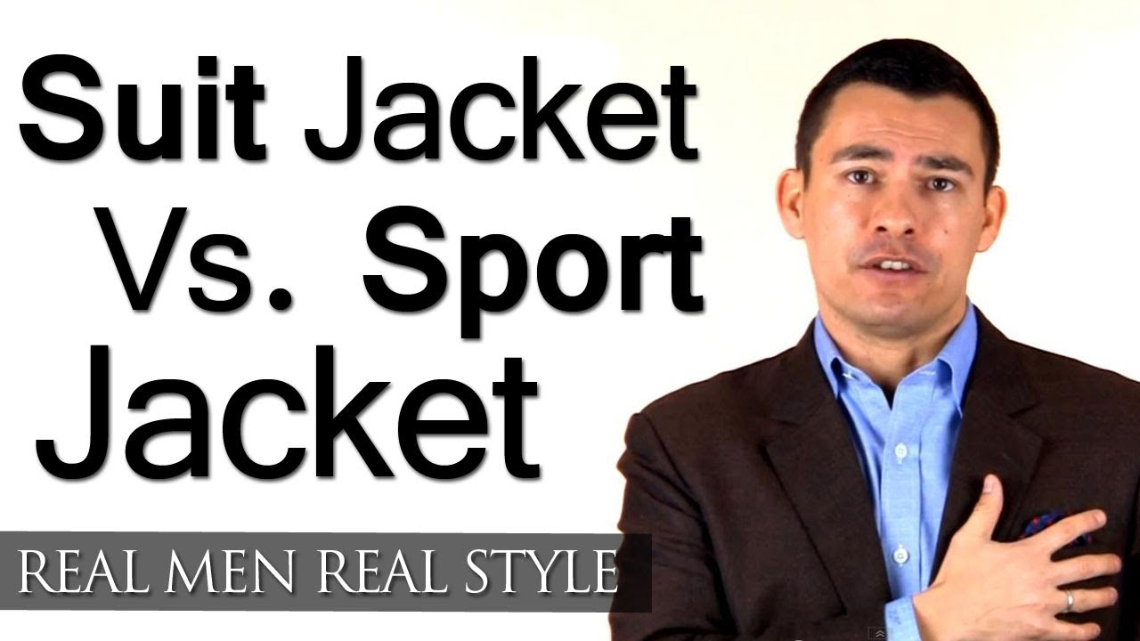 Men&39s Style Tips - Suit Jacket Vs. Sport Jackets - What&39s The