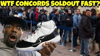 I WAS WRONG!! Jordan 11 Concords Soldout But I Still Didn't Buy Them