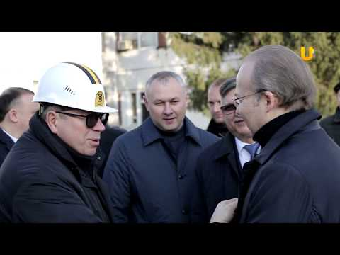 Новости UTV. Первый вице-премьер Правительства РБ Андрей Назаров посетил Стерлитамак